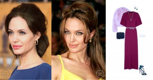 Angelina Jolie - Tlumené léto, tmavý podtyp