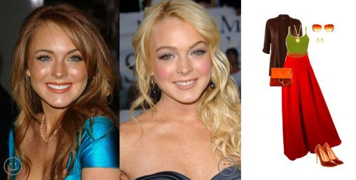 Lindsay Lohan - Teplý podzim