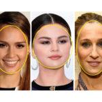Základní tvary obličeje: oválný, kulatý a podlouhlý
