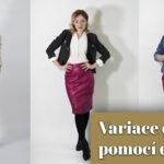 Video: různé variace outfitu pomocí doplňků